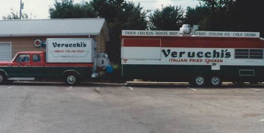 Verucchis Chicken Wagon and Truck